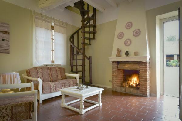 Casa vacanza d'atmosfera, Camino, Borgo Zelata