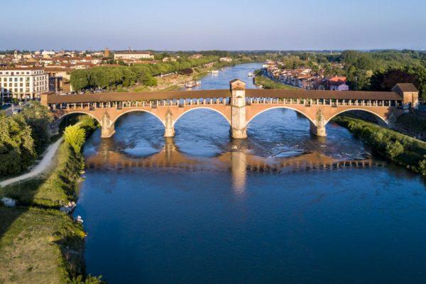 Pavia, Ponte coperto, Borgo Zelata